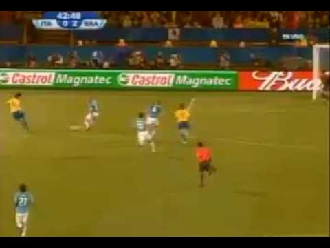 Confederations Cup Italy - Brazil 0 - 2 Luis Fabiano