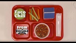 Taco Chili K12 Foodservice Recipe