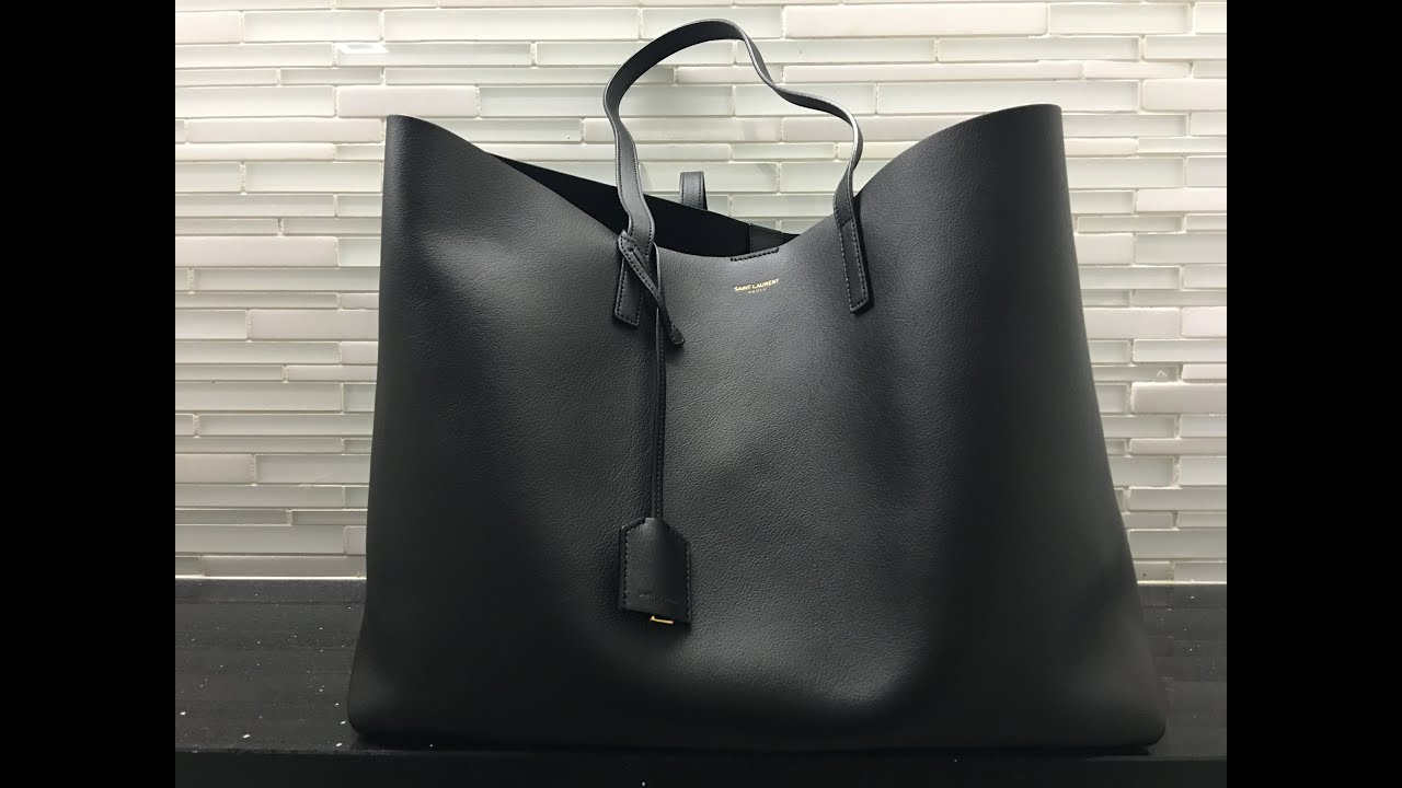 20e41888546 Saint Laurent Tote Quick Look - YouTube