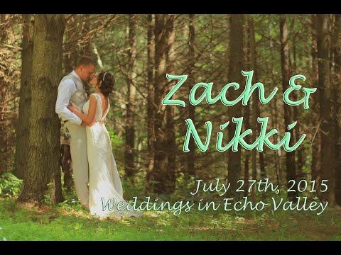 Zach & Nikki - Weddings In Echo Valley