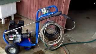 Harbor Freight 2500 PSI Gas Pressure Washer Item Number 69734