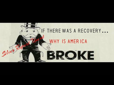Economic Recovery! Why Is America Broke! Bubblenomics 101