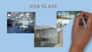 Цельностеклянные перегородки - купить стеклянные перегородки в Disa Glass(, 2016-10-02T15:53:49.000Z)