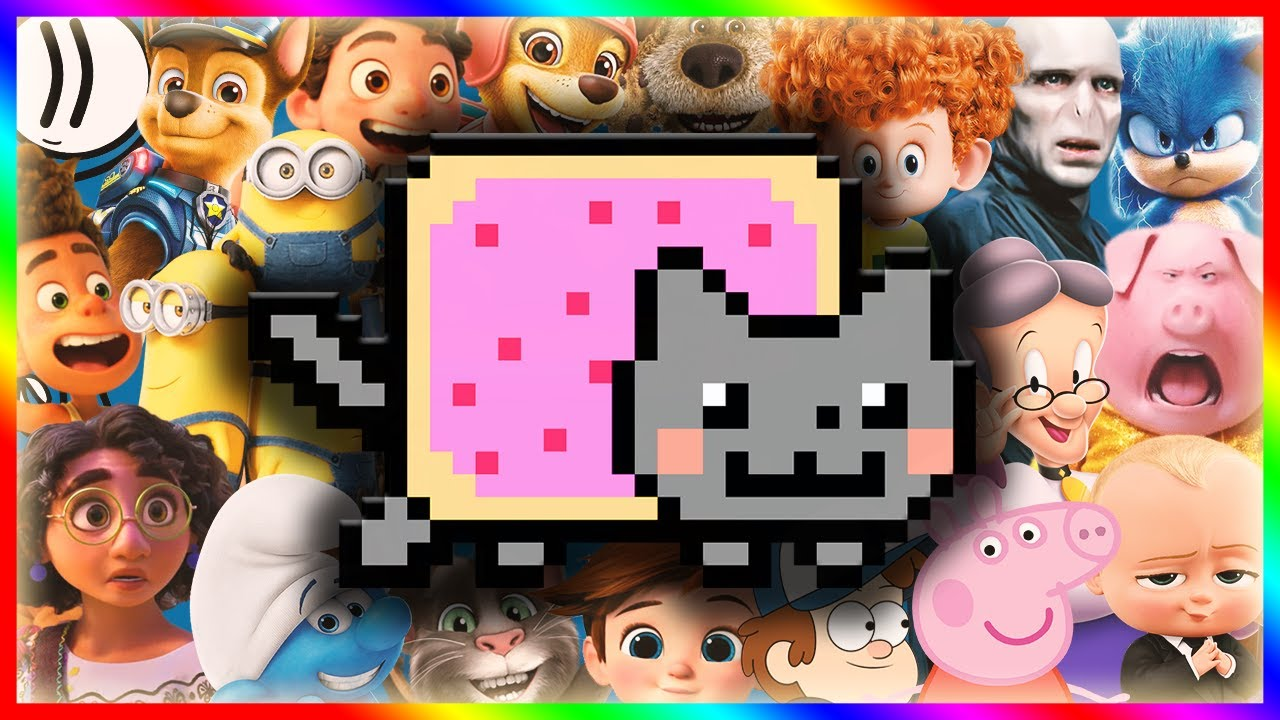 Nyan Cat (Movies, Games and Series COVER)