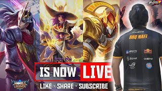 [LIVE] MOBILE LEGEND : BANG BANG PUSH MYTHICAL GLORY POINT 1000+++