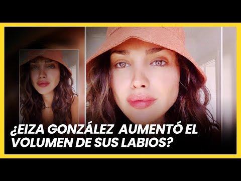 ¿Eiza González aumentó el volumen de sus labios? | Las Estrellas