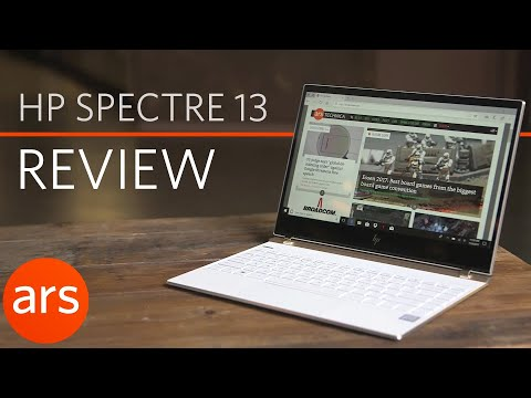 2017 HP Spectre 13: Top new features | Ars Technica