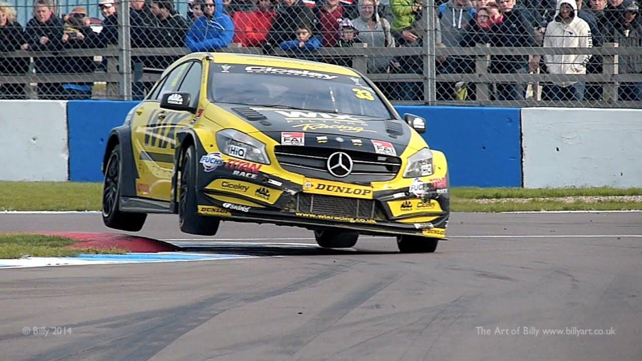 Adam morgan wix racing mercedes benz a class btcc 100 fps for Mercedes benz race car