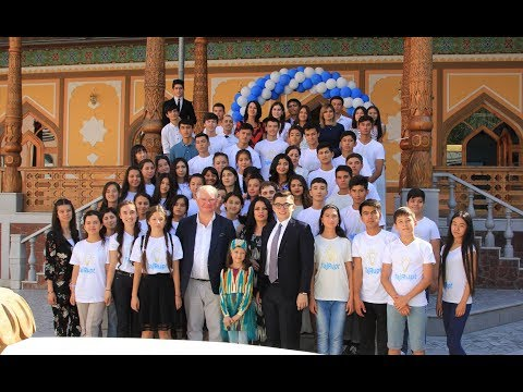 Opening Ceremony of TajRupt's ERC in Khujand - July 2017