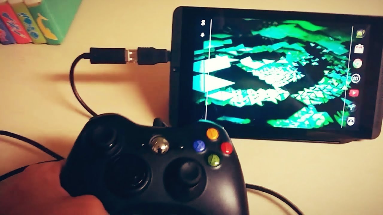 Download How to Connect a XBOX 360 Controller to your Android Tablet