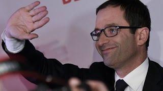 Primaire de la gauche : Benoît Hamon 58,6% devance Manuel Valls 41,3%