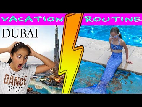 Mermaids of Arabia Meets YouTube Stars Elena and Clara!
