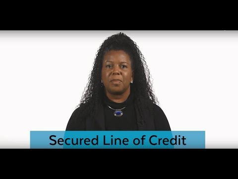 Business Loan Connection: Secured Line of Credit