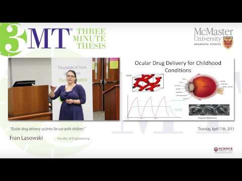 Dissertation on ocular drug delivery