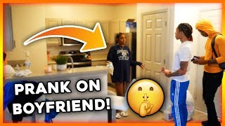 WEARING ANOTHER MAN'S SWEATSHIRT PRANK ON BOYFRIEND!!! (HE BROKE UP WITH ME)