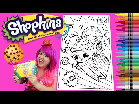 Coloring shopkins kooky cookie cupcake chic giant - Shopkins cartoon episode 5 ...