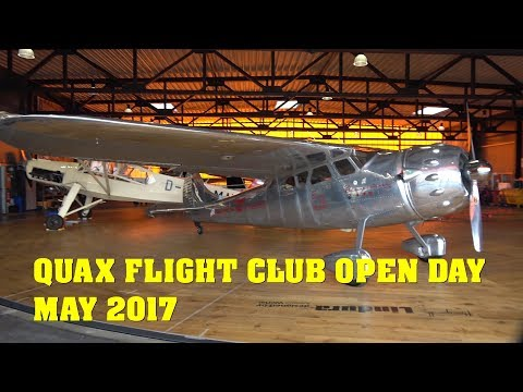QUAX Flight Club Open Day - Paderborn Airport May 2017