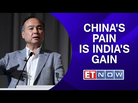 Masayoshi Son: China's pain is India's gain