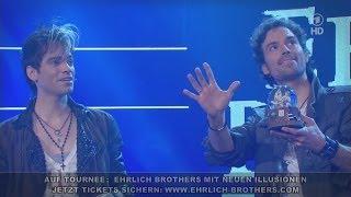 Ehrlich Brothers zaubern Schnee