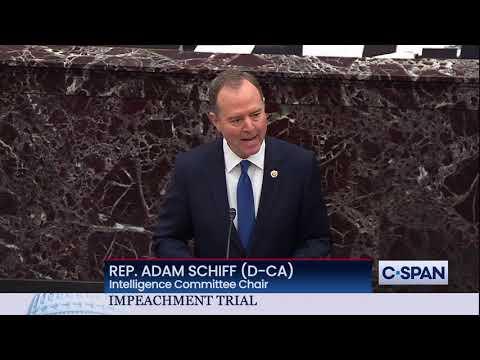 Rep. Adam Schiff Closing Argument