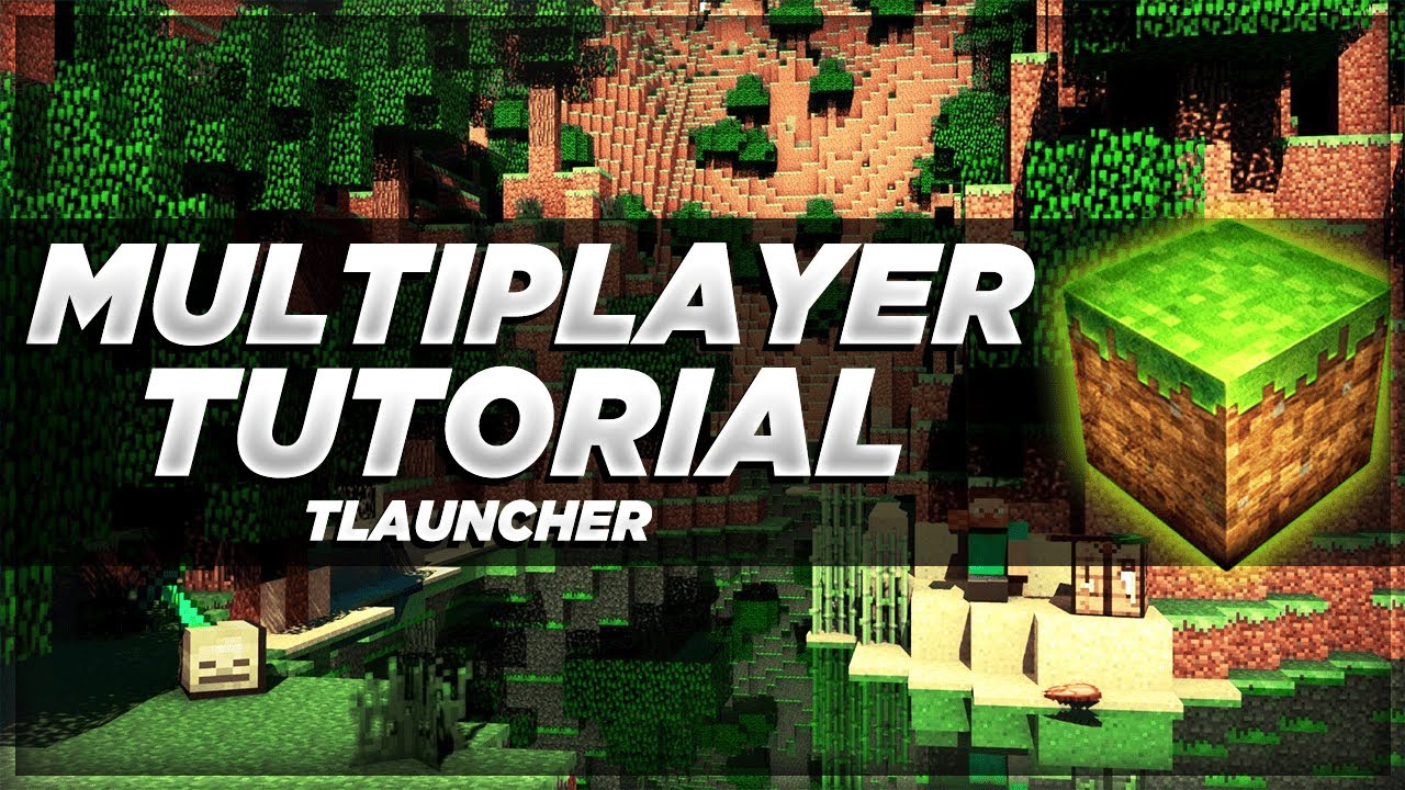 How to play Multiplayer on Minecraft! [Tlauncher - Easy - 2019]