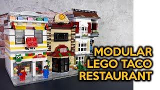 Lego Corner Deli Mod