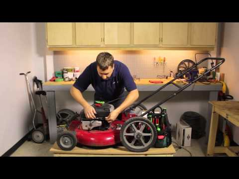 How to Replace the Stop Cable on a Lawnmower : Lawnmower Maintenance & Repair
