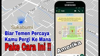 How To Creat A Fake Location In Whatsapp