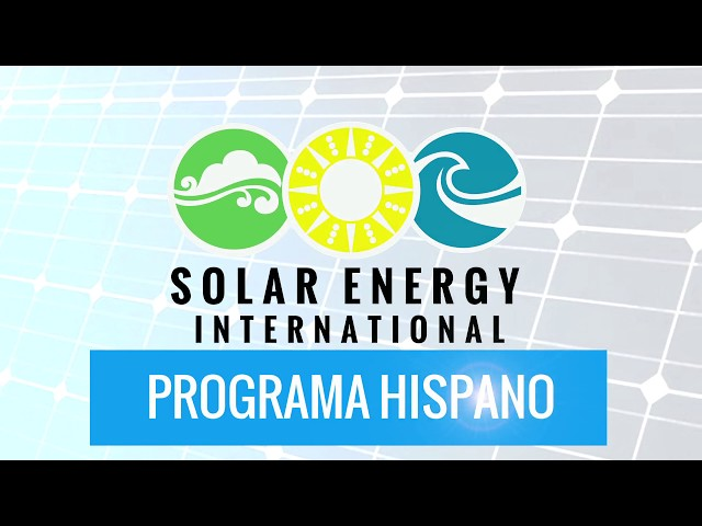 Solar Ready Colorado - SEI Spanish Program