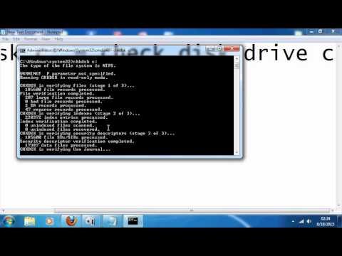 cara mengatasi error pada hardisk,hardisk ex,flashdisk, memory card