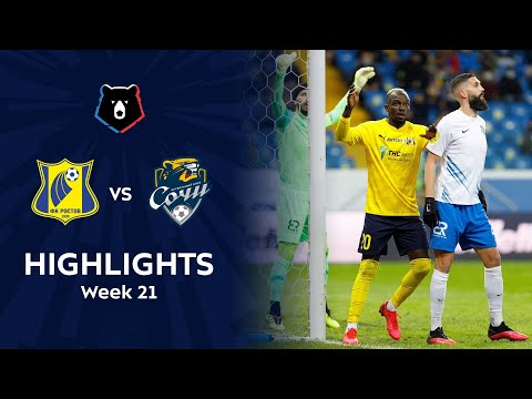 Rostov Sochi Goals And Highlights