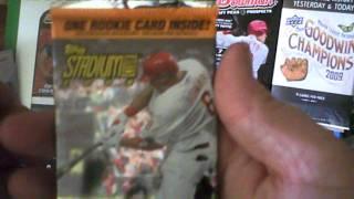 Baseball Card Box Break From Target 1/2 Rookie Mojo!!!