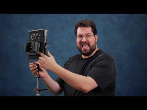 GVM 520LS LED Video Light Instruction