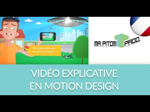 Video Explicative d'1 nouvelle Plateforme Media - Ma Pitom Agence de Réalisation Motion Design