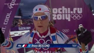 Biatlon ZOH Soči 2014 Sprint žen na 7,5 km