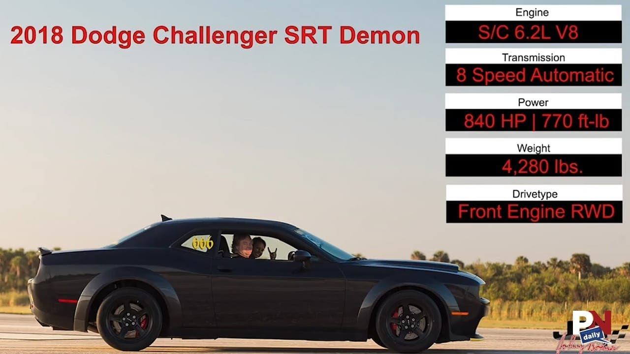 The Dodge Demon Hit A Staggering Top Sd