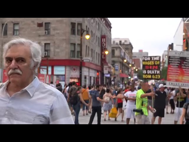 Montreal Police Say: Yelling is illegal here