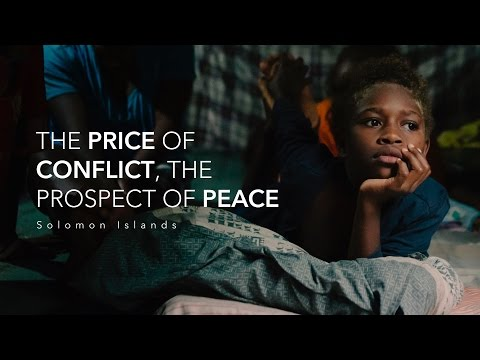 The Price of Conflict, the Prospect of Peace: Virtual Reality in Solomon Islands
