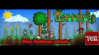 Terraria Mage challenge Episode 1: En god begyndelse [DK]