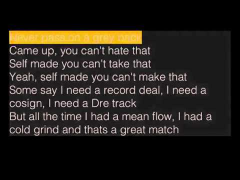 Hold Up - Marion Band$ (Feat. Nipsey Hussle) Lyric Video -