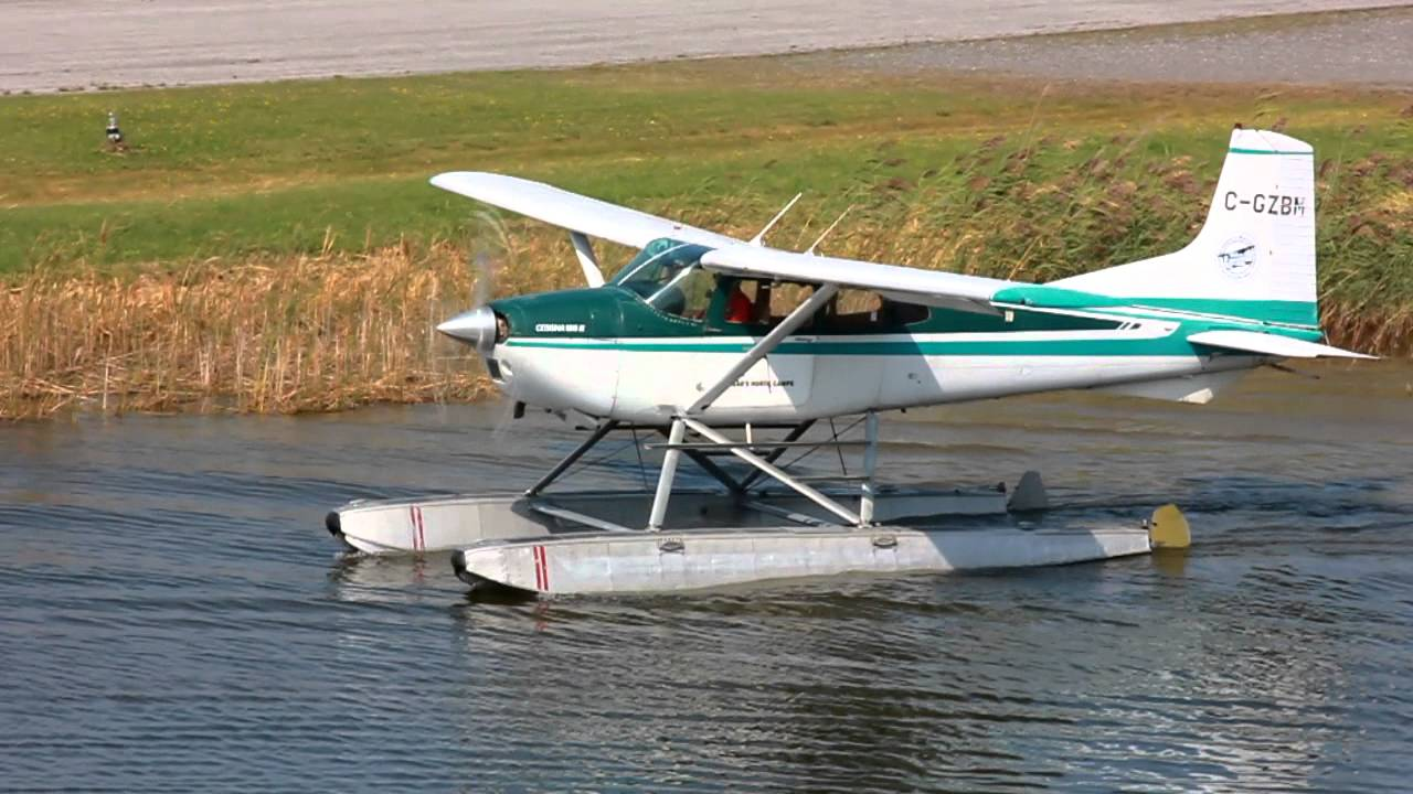 [HD] Cessna A185F On Floats Takeoff CSU3