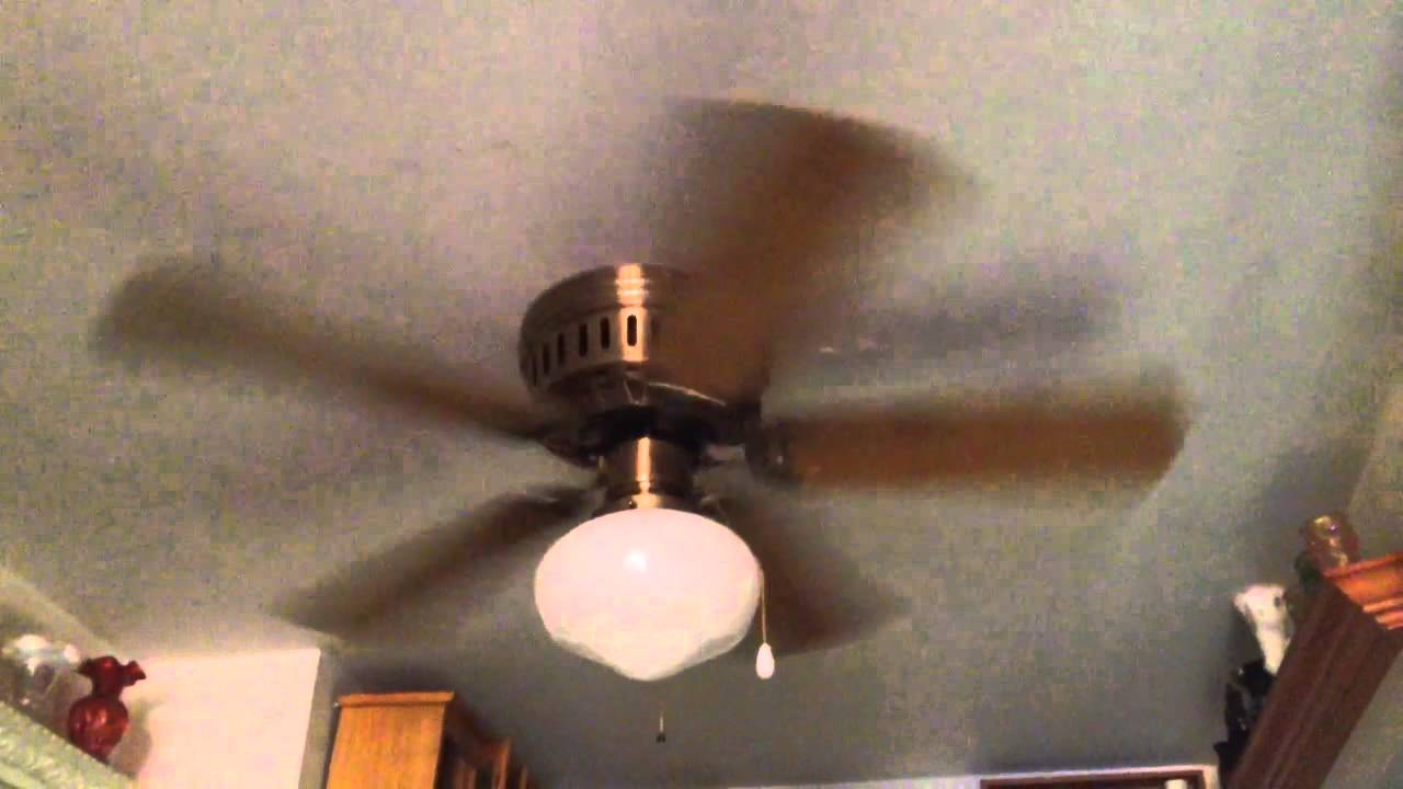 1984 nutone hug the ceiling 42 ceiling fan youtube aloadofball Image collections