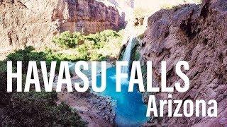Hiking to Havasu Falls, Grand Canyon