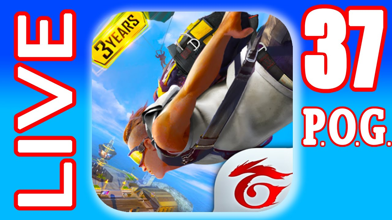 FREE FIRE LIVE #37 with P.O.G. Clash Squad (iOs, Android)   Power of Gameplay