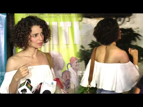 Arrogant Kangana Ranaut Walks Out Of An Interview