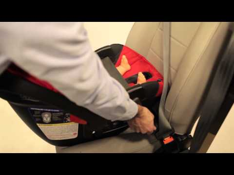B Safe 35 >> Britax B-Safe 35 & 35 Elite Infant Car Seat Installation Video - YouTube
