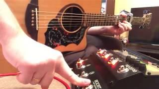 TC Electronic G-Natural | Процессор эффектов для акустической гитары | Reverb Delay Comp Mod | ОБЗОР