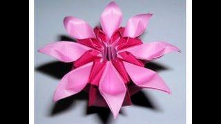 "Daisy Flower Origami. ""marguerite"" Mio Tsugawa. Ideas For House Decor - Easter"
