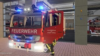 Emergency Call 112 – Vienna Fire Truck Responding! 4K