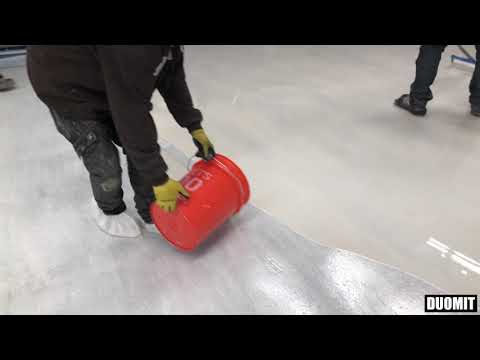 How to Make Pearl Metallic Epoxy Floors. Installation Guide.